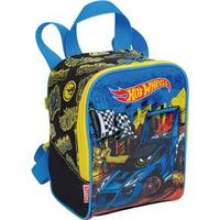 Lancheira Infantil Sestini Hot Wheels 16m Plus Colorida