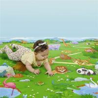 Tapete Infantil Burigotto KidSmat Colorido 130X180cm