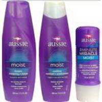 Kit Aussie Moist - Shampoo/condic/3minutes Miracle