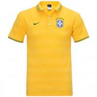 fcddb3d3c6d26 Camisa Polo Nike Brasil League Auth Masculina Amarela