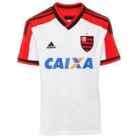 deb7cd4a96 Camisa Adidas Flamengo 2 Boys Branca Tamanho 14 D80807