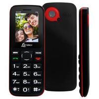 Celular Lenoxx CX905 Desbloqueado GSM Dual Chip Preto e Vermelho