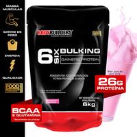 Massa 6 Bulking Gainers Protein 6 kg Refil - Bodybuilders - Unissex