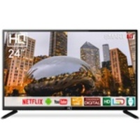 Smart TV LED 24 HD HQ HQSTV24NP Netflix Youtube HDMI USB Wi-Fi