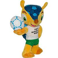 Pelúcia Fuleco Copa do Mundo da FIFA 2014 BBR 18cm