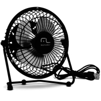 Mini Fan Ventilador Multilaser Usb Ac167 Preto