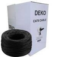 Cabo De Rede Internet Cat6e Caixa 305m Cat6 Deko Blindado