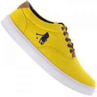 Tênis Polo US 2215 Masculino Amarelo  2272b66434129
