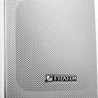Par de Caixas Acústicas Frahm PS200 Plus para Som Ambiente Branca 31191