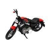 Miniatura Moto - Harley Davidson - 1/18 - 07 Xl 1200n Night Pto/vm