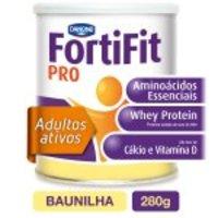Suplemento Nutricional FortiFit PRO Sabor Baunilha 280g