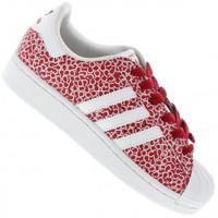 Tênis Adidas Superstar 2 Feminino Rosa e Branco  62d534d3751