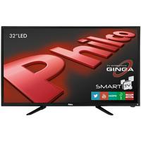"Smart TV LED 32"" PH32B51DSGW Philco HD HDMI USB Função Ginga e Wi-Fi Integrado"