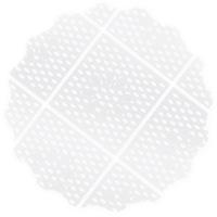 Fundo Rendado Regina Festas Tapetinho Transparente 9 cm com 100 unidades