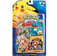 Bonecos Pokémon Kit (Munchlax, Blaziken, Grovyle) Long Jump