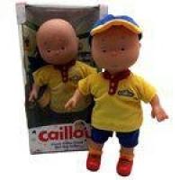 Boneco Menino Caillou 35cm Do Desenho Infantil - Intek