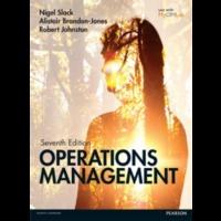 Operations Management 7 edição