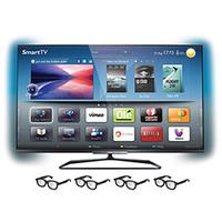 TV Smart LED 3D 55 Philips 55PFL7008
