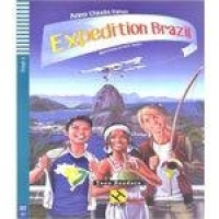 Expedition Brazil - Hub Teen Readers - Stage 3 - Book With Audio Cd