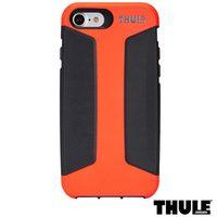 Capa para iPhone 7 Thule Policarbonato Coral e Preto