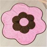 Tapete Infantil Guga Tapetes Formato Big Margarida Dupla Rosa 125cm