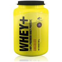 Suplemento 4 Plus Nutrition Whey+ 100% Premium Whey Protein Chocolate 900g