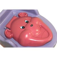 Troninho Baby Style Urso Rosa