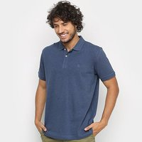 Camisa Polo Richards Mescla Manga Curta Masculina