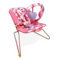 Cadeira Bebê Descanso Vibratória Musical Lite Corações