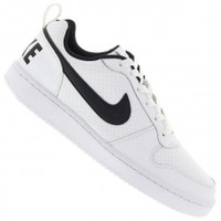 Tênis Nike Recreation Low Masculino Branco e Preto