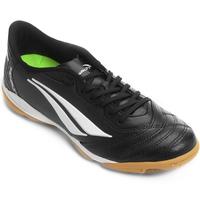 Chuteira Penalty Brasil 70 R1 Futsal Masculina Preta e Branca  dec120674ea50