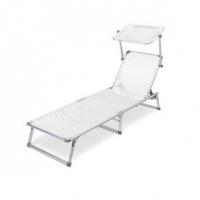 Cadeira Espreguiçadeira BelFix Búzios Branca
