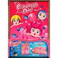 DVD - Princesas do Mar - Vol 3 + Estojo Brinde