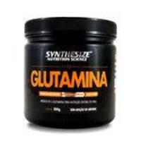 Glutamina Pura 300g Synthesize 5g/ Dose 60 Doses Zero Glúten