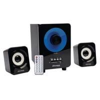 Caixa de Som Maxprint 6010266 15W Preta e Azul