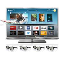 TV 42 3D LED Smart TV Plus Full HD Philips 42PFL6007 + 4 óculos