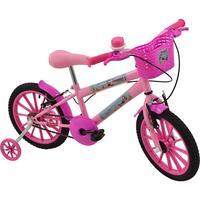 Bicicleta Poli Sport Sereia Mermaid Polikids Aro 16 Rosa
