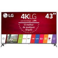Smart TV LED 43'' Ultra 4K LG 43UJ6565 Com Sistema Webos