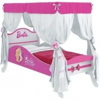 Cama Barbie Pura Magia Premium Com Dorsel