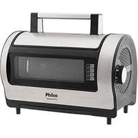Fritadeira Elétrica Philco Air Fry Preto e Aço Escovado