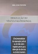 Dissolução do Vínculo Matrimonial