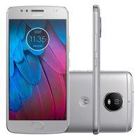 Smartphone Motorola Moto G5S XT1792 Desbloqueado Vivo GSM 32GB Dual Chip Android 7.1 Prata