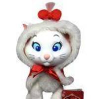 Boneca Pelúcia Gatinha Gata Marie Natal Disney - Multibrink