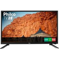 TV LED 28'' Philco PH28N91D Conversor Digital Preta
