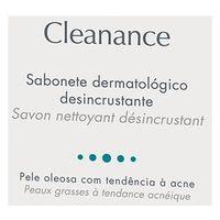 Sabonete Em Barra Cleanance Avène Limpador Facial 80g