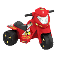 Mini Moto Elétrica Bandeirante Banmoto G2 2 Marchas 6v Vermelha 2590