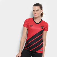Camisa Athletico Paranaense I 19/20 s/nº Torcedor Umbro Feminina