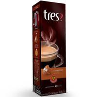Cápsulas de café Três Corações Espresso Ameno 10 Unidades