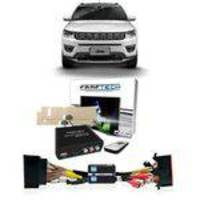 Interface Desbloqueio Tela + Tv Full HD Jeep Compass 17/18