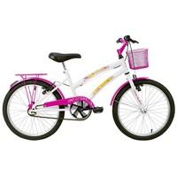 Bicicleta Verden Breeze Aro 16 Branca e Pink